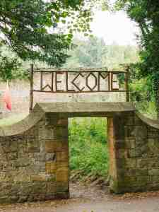 The Good Life society summer camp welcome signage americana portrait_1