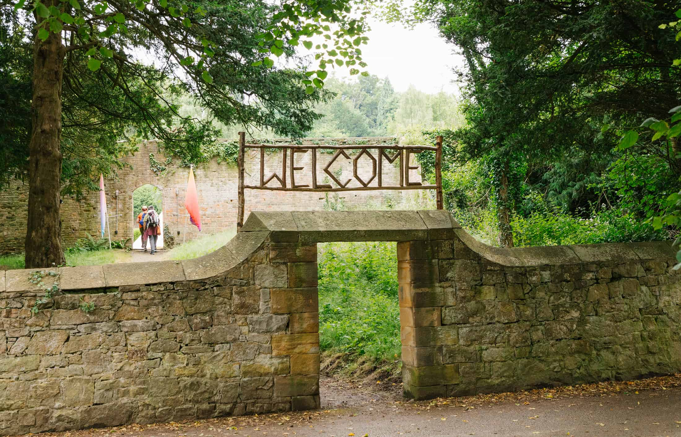 The Good Life society summer camp welcome signage americana_1